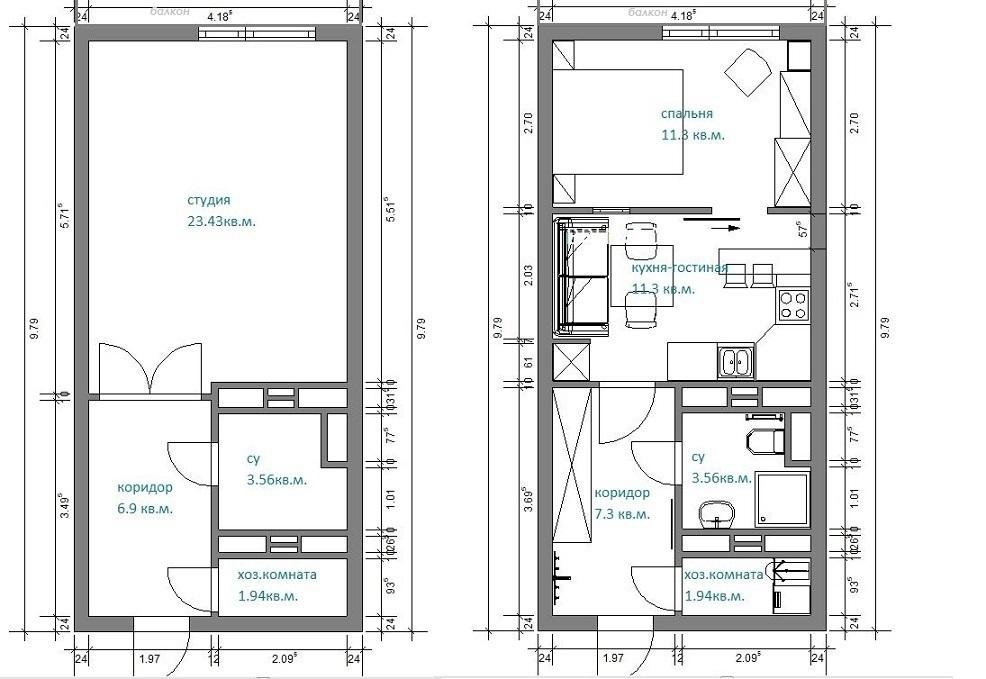 Дизайн ванной комнаты в серых тонах