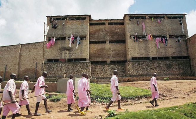 Тюрьма в Руанде