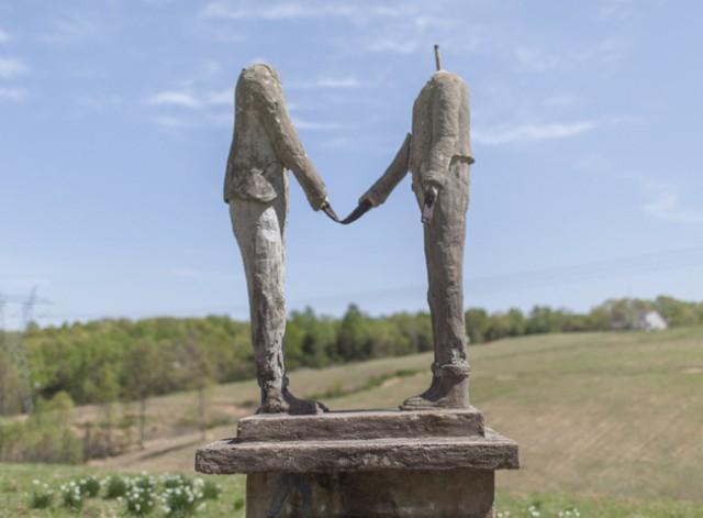 7. Парк безголовых статуй Уикхэма статуи, ужас