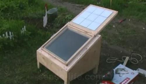 Солнечная печка своими руками, солнечная батарея своими руками. Мастер-класс