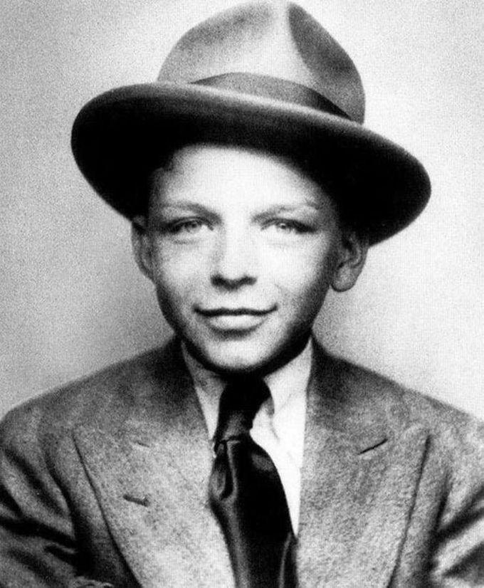 10-летний Фрэнк Синатра, 1925 дети, известность, история, фото