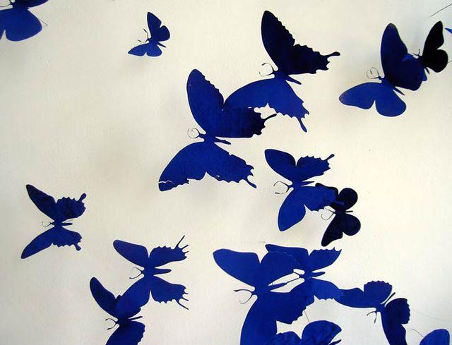 бабочки из пивных банок