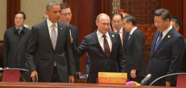 Путин жжот, Обама грустный