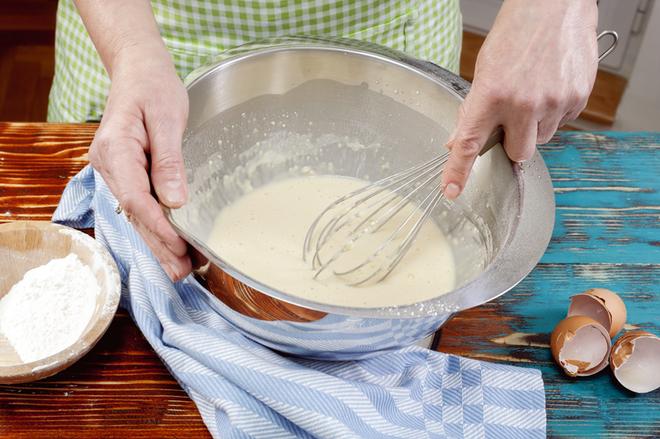 Тесто для блинов рецепт с пошагово