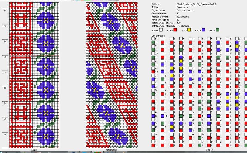 бисера славянские схемы плетения обереги из
