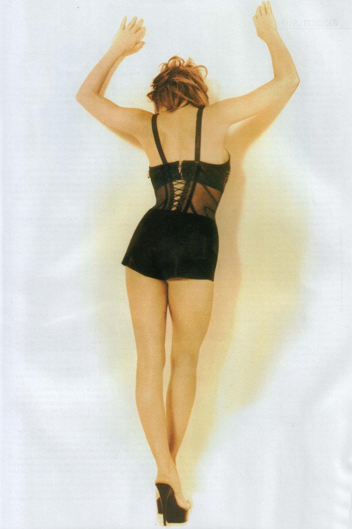 Милен Фармер (Mylene Farmer) в фотосессии Херба Ритца (Herb Ritts) для сингла L'Instant X (1995), фото 5