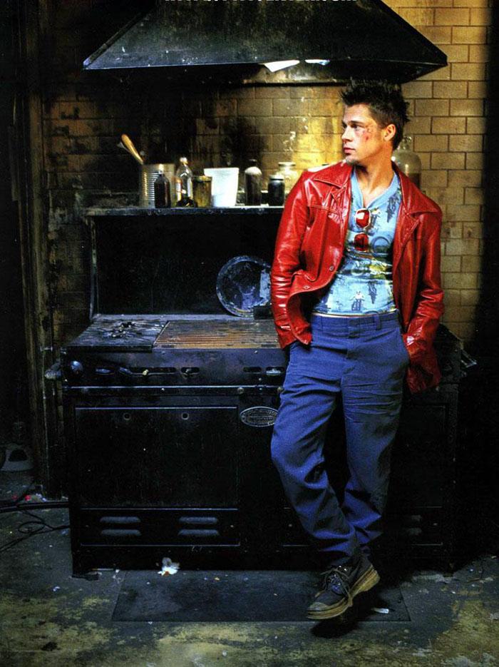 Брэд Питт (Brad Pitt) в фотосессии для фильма «Бойцовский клуб» (Fight Club) (1999), фото 6