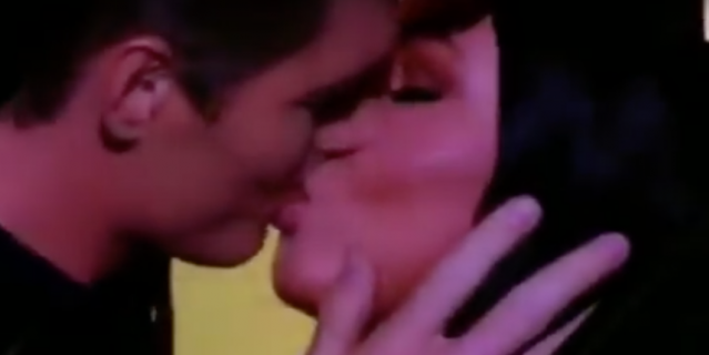 Страстный поцелуй Алексея Воробьёва и Ирины Дубцовой попал на видео