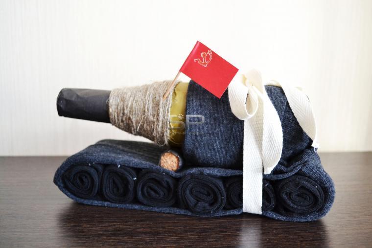 Торт из носков для мужчин фото своими руками