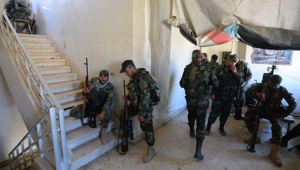 Самолеты западной коалиции нанесли авиаудар по сирийской армии