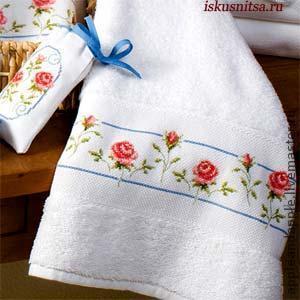 Вышивка полотенец своими руками