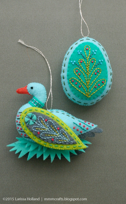 Райские птицы из фетра. Идеи (13) (408x660, 546Kb)