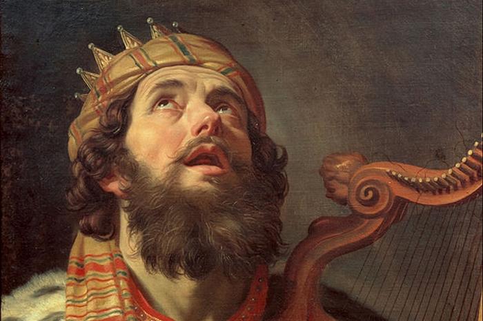 Царя Давида грела девственница.