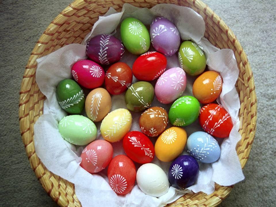 Правила и секреты росписи яиц!