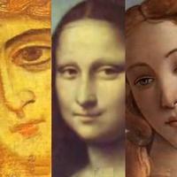 500 лет женских портретов под музыку Баха...