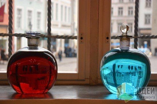 Декоративное стекло, декор своими руками, вазы декор