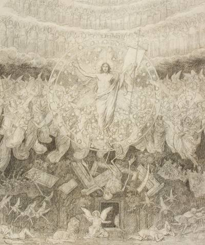 Эскизы Александра Иванова для храма Христа Спасителя