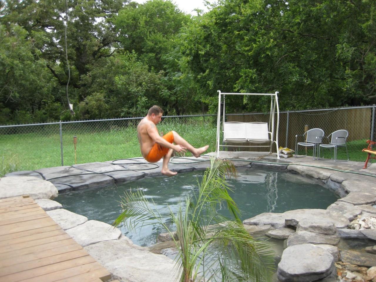 Как сделать своими руками небольшой бассейн на даче