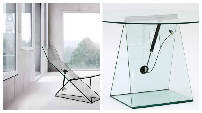 Эксклюзивная коллекция стеклянной мебели дизайнера Константина Грчик (Konstantin Grcic)