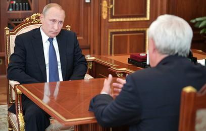 Губернатор Петербурга доложил Путину о ситуации в городе