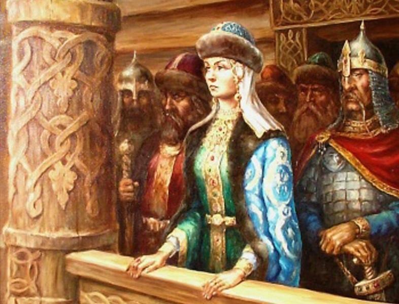 Княгиня Ольга. Загадки биогр…