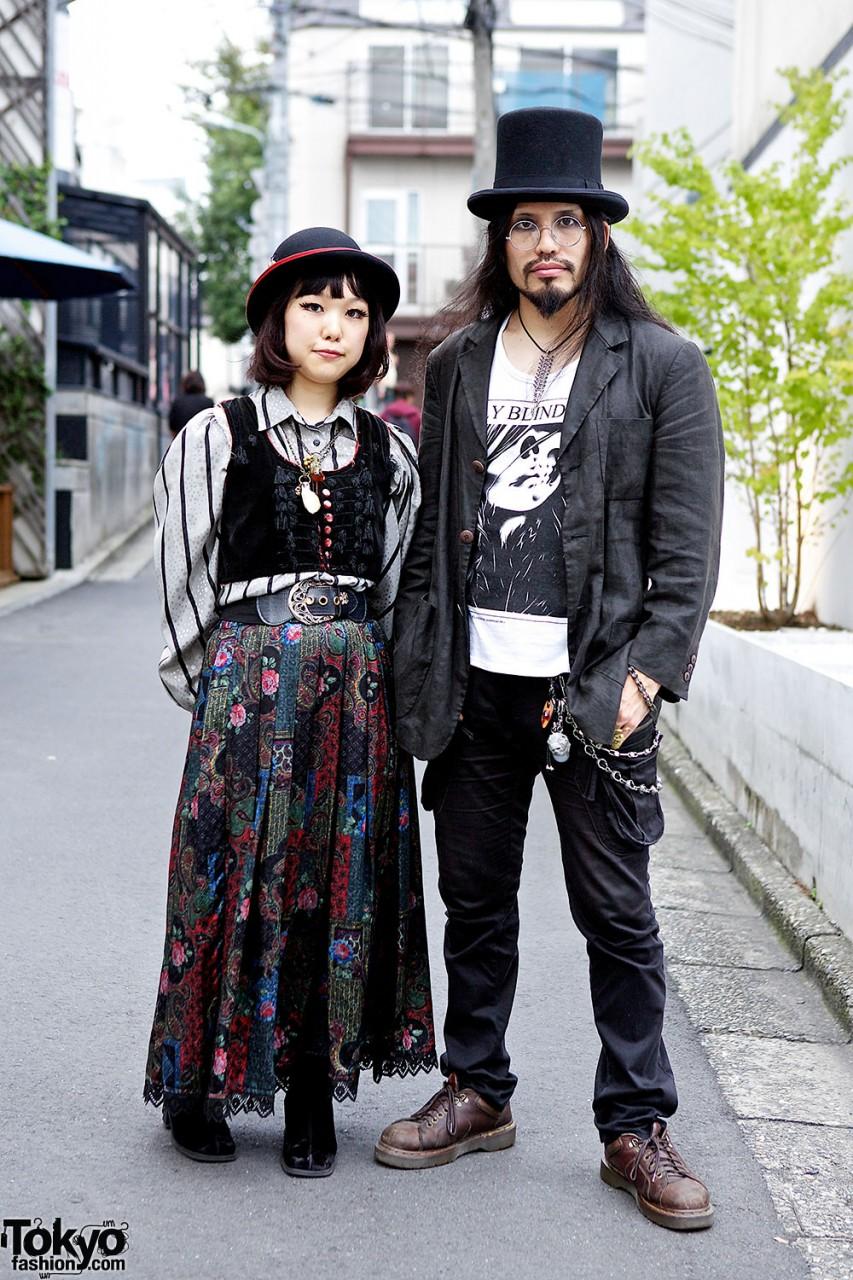 Японская уличная мода одежда