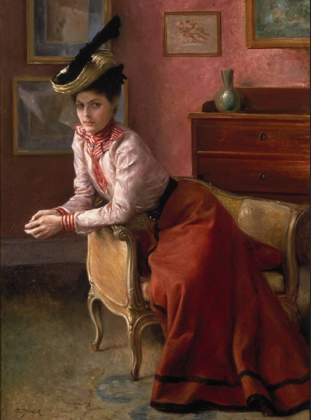 Последний крик моды. Наряды из Парижа. 1885 г. Часть 2-2