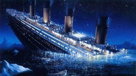 10 «Титаник» был настолько огромен, что тонул целых 2 часа 40 минут. интересно, кораблекрушение, титаник