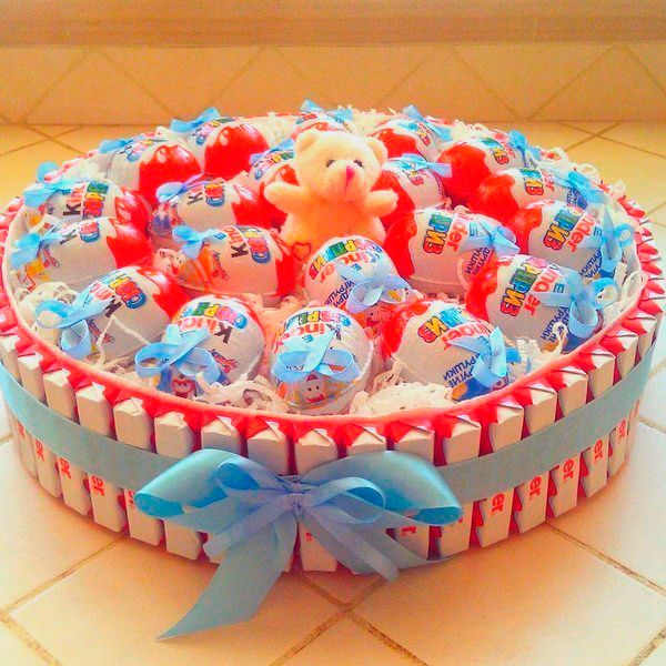 Как делают торты из мастики