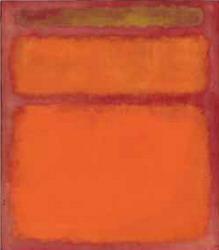 Марк Ротко Оранжевый, красный, желтый