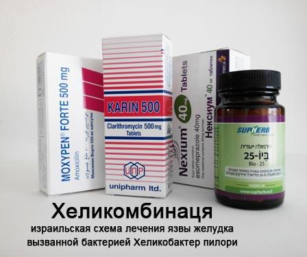 какие таблетки при 12 персной язве
