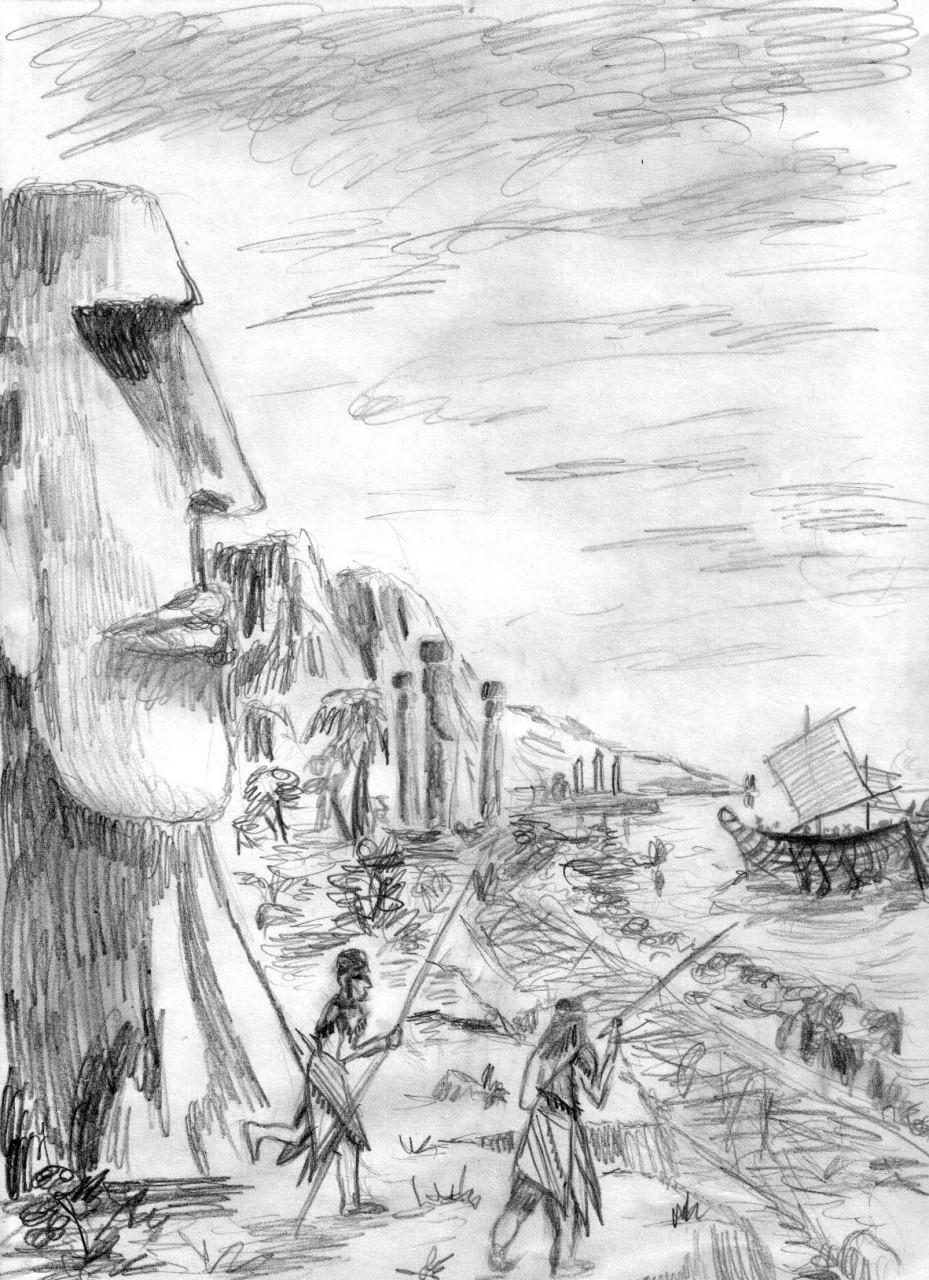 О чем молчат истуканы с острова Пасхи?