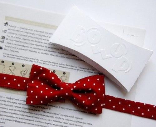 Как сделать галстук бабочка для мальчика