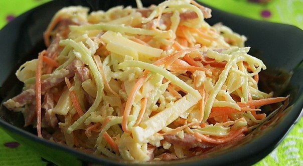 Салат из редьки рецепты приготовления