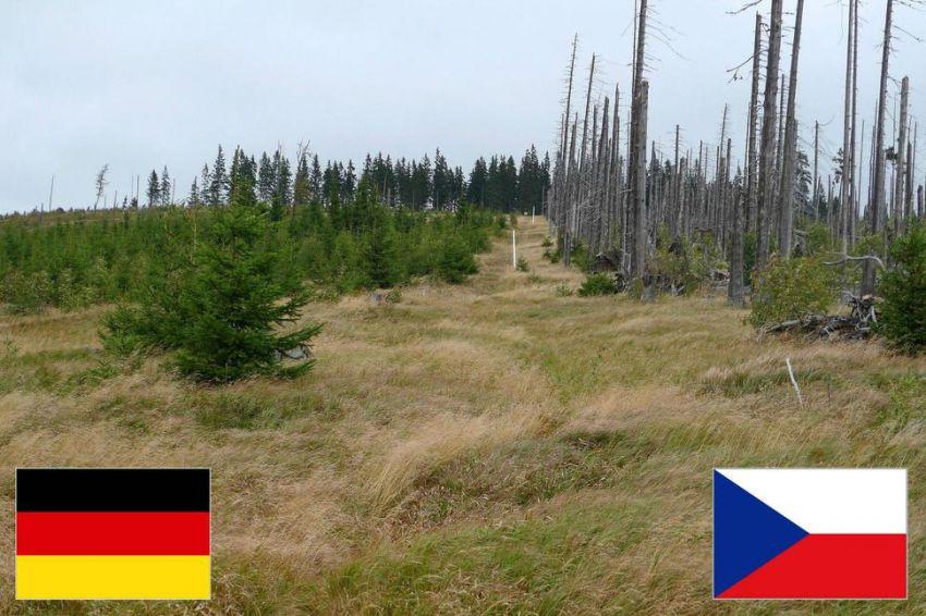 Какими могут быть границы границы, география, фото