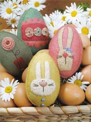 Шьем пасхальные яйца. МК, идеи