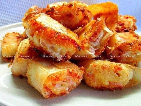 сырная закуска с беконом