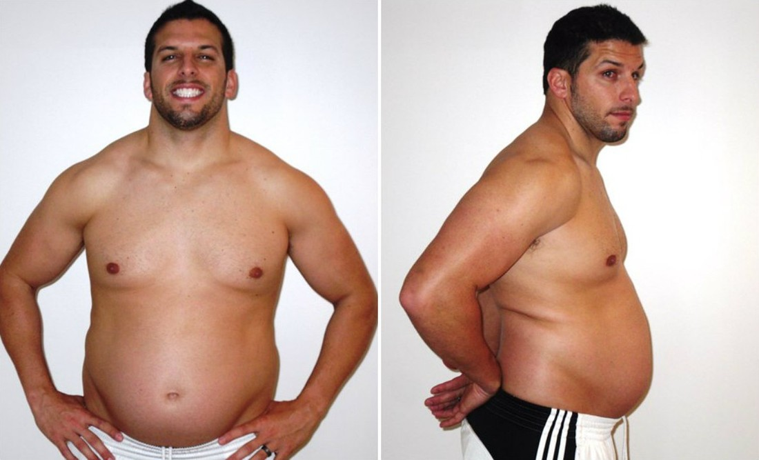 Тренер по фитнесу потолстел, чтобы понять клиентов, и заново привел себя в форму
