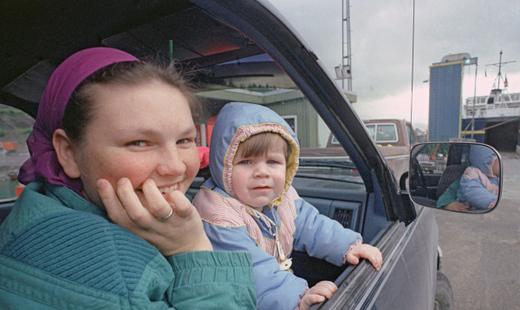 У 49% российских семей нет машины