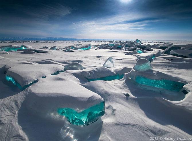 Природа, когда в дело вступила зима