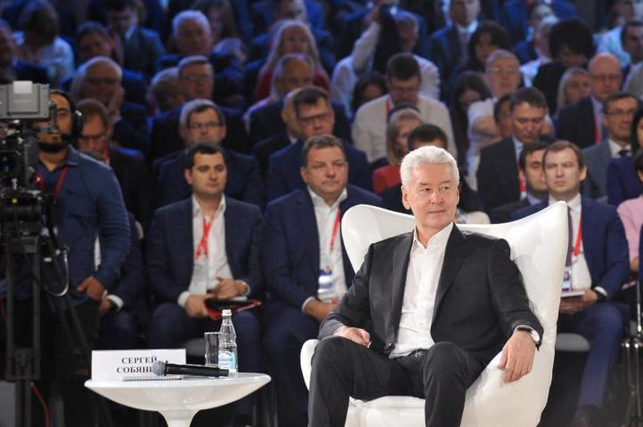 Сергей Собянин лидирует на выборах мэра Москвы