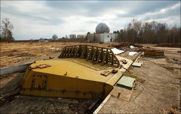 заброшенные позиции системы А-135 ПРО Москвы