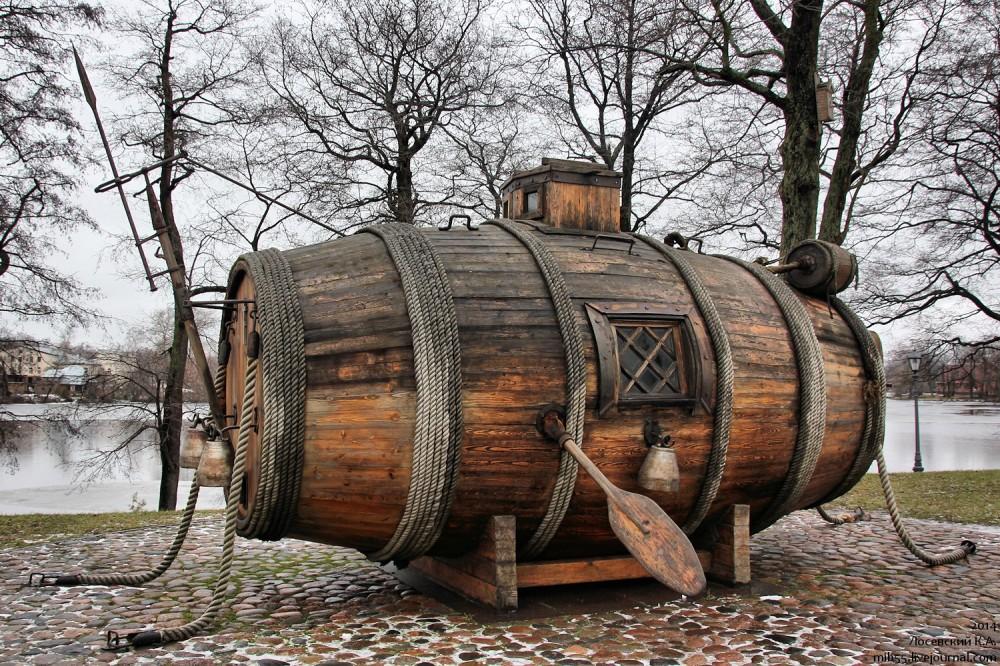 первое применение подводных лодок