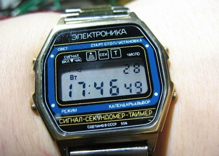 Как в СССР делали часы «Электроника»