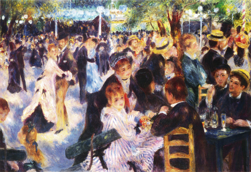 art history formal analysis renoir luncheon Pierre-auguste renoir, luncheon of the boating party, 1880–81 oil on canvas, 51 1/4 x 69 1/8 in the phillips collection, washington, dc, acquired 1923.