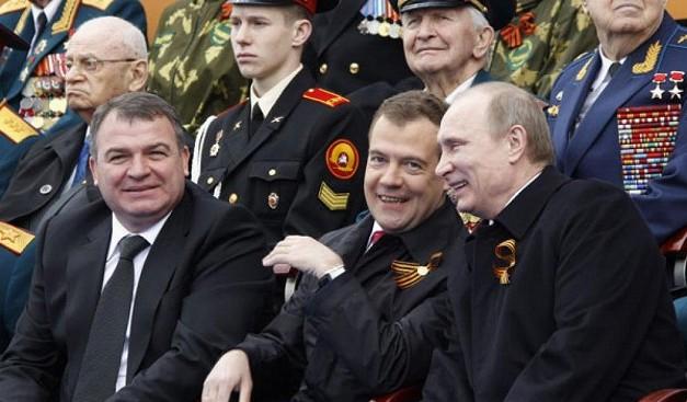 WHO IS MISTER SERDYUKOV? ЮРИЙ СЕЛИВАНОВ