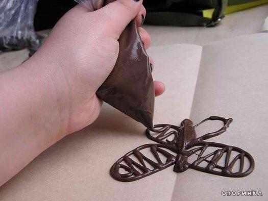 Изделия из шоколада своими руками