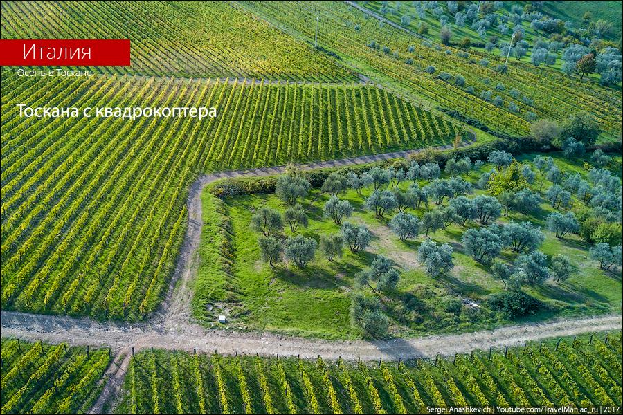 Тоскана с квадрокоптера. Фото и особенности запуска дронов в Италии