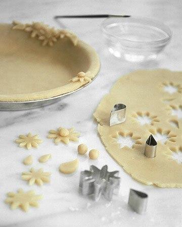 Как красиво украсить пирог