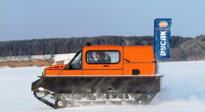 Суперлегкий российский вездеход Хорт-3918, который при полном баке проезжает по бездорожью 300 км
